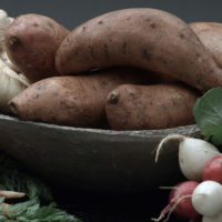 High Fiber Tubers, Shop With The Doc, photo of tubers in bowls