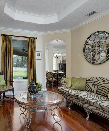 photo of a living room of a home in Deland Fl