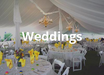 Wedding Reception Rentals