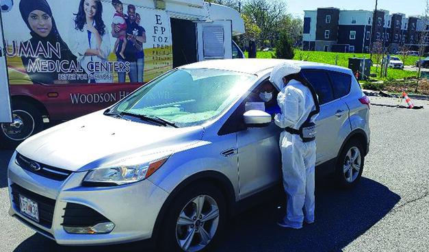 Virus Testing Underway In The Black Community