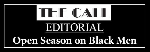 Open season on black men