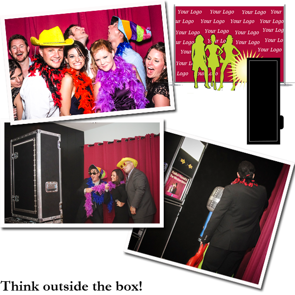 open aire photo booth for weddings and parties in Miami