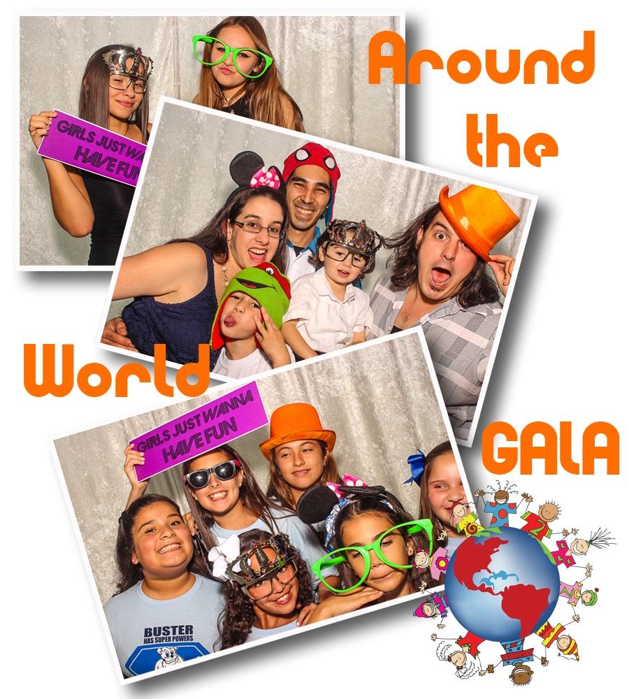 around the world gala