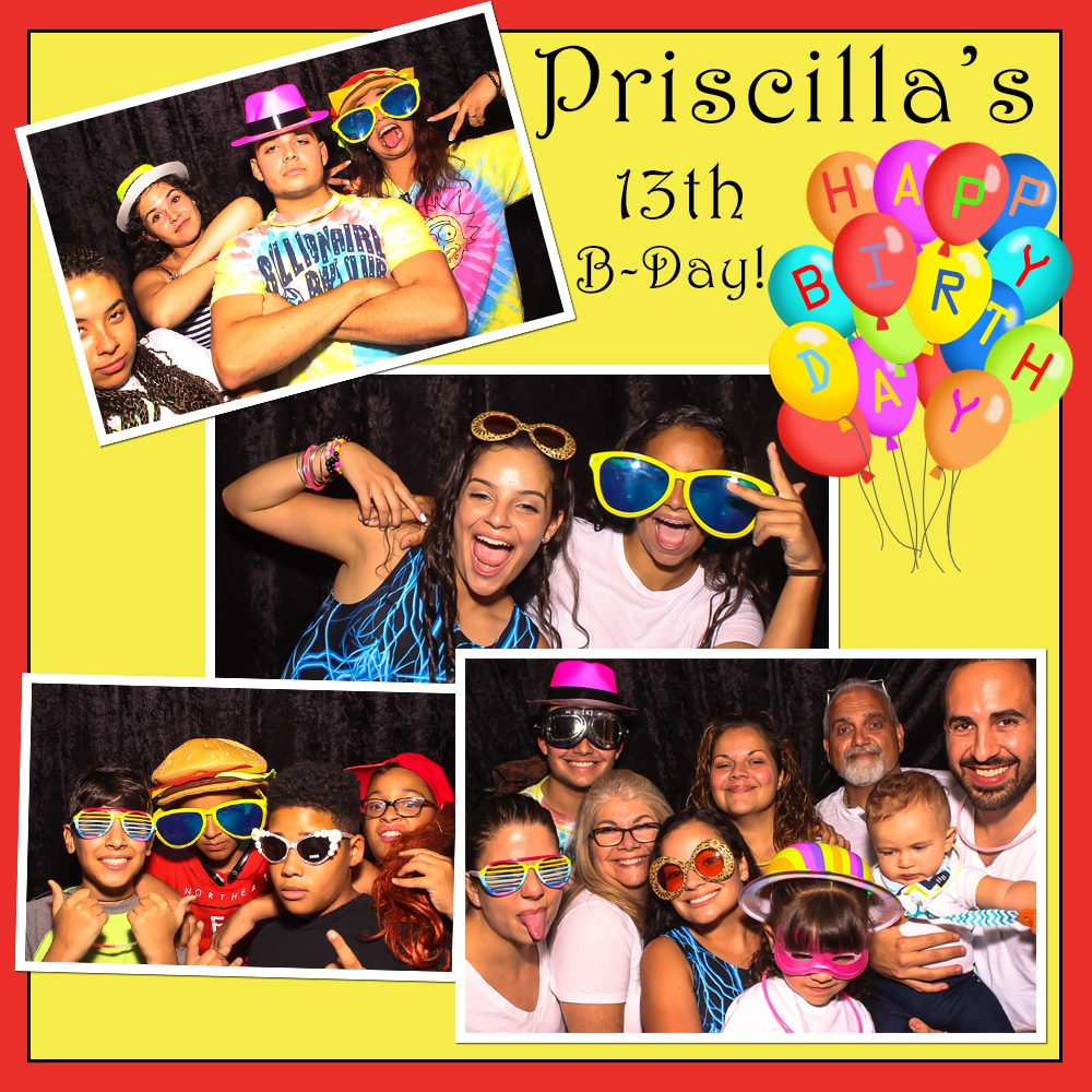 Birthday in South Miami Photo Booth