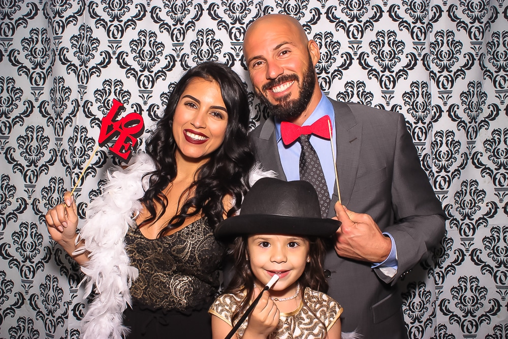 Family Portrait Photo booth