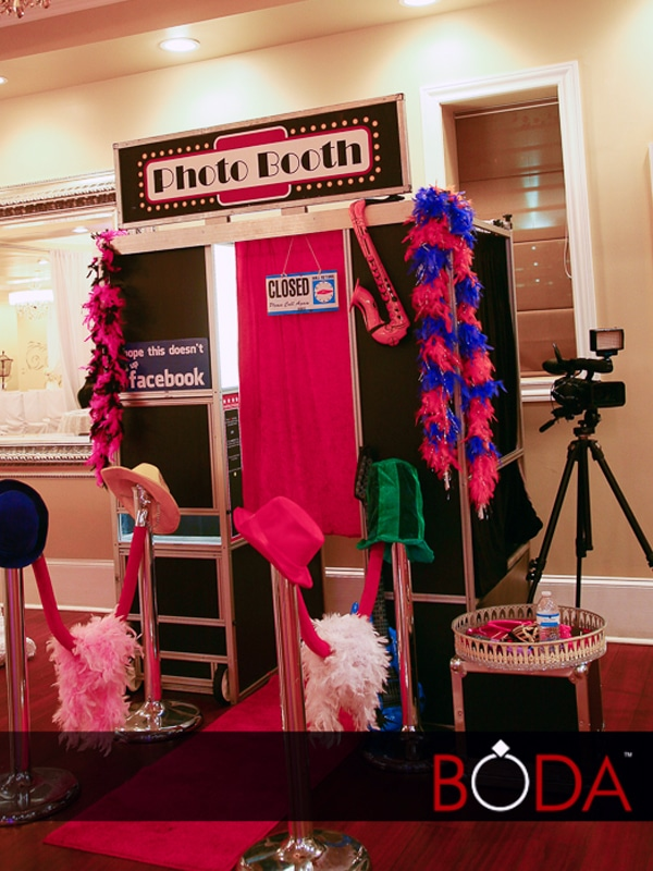 Photo Booth Classic Model at wedding