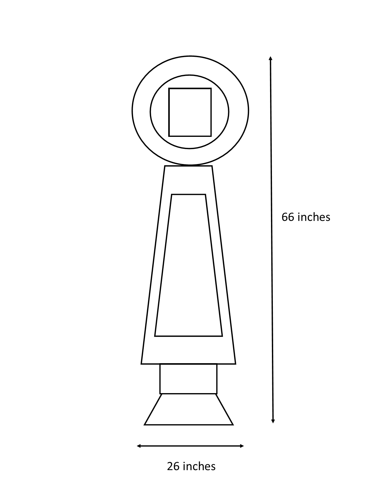 Pylon Dimensions