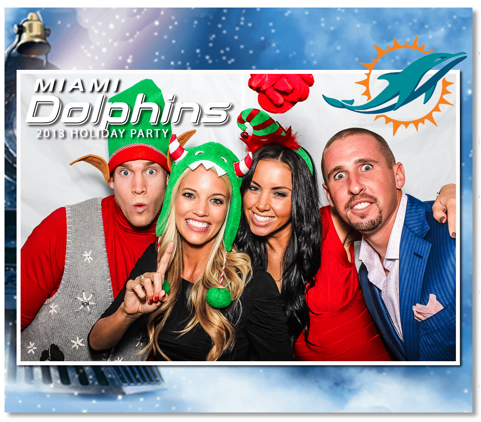 Miami Dolphins Photo Booth