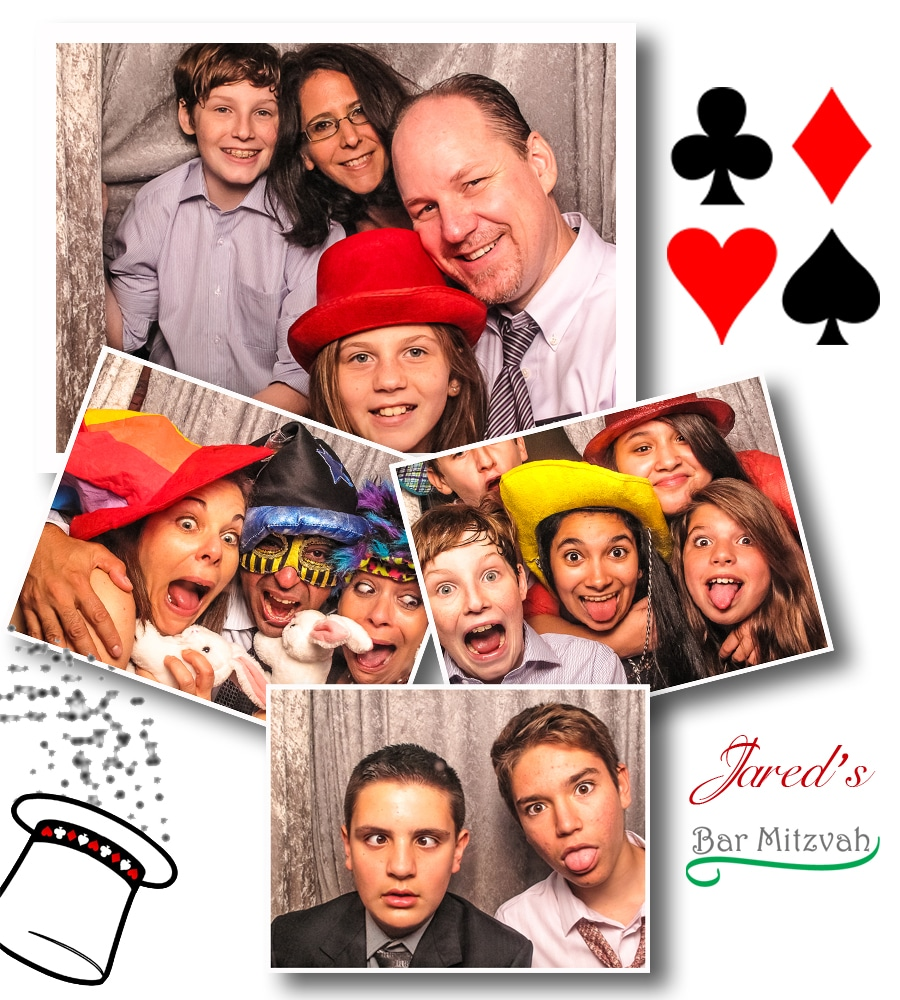 Bar Mitzvah Photo Booth Photo