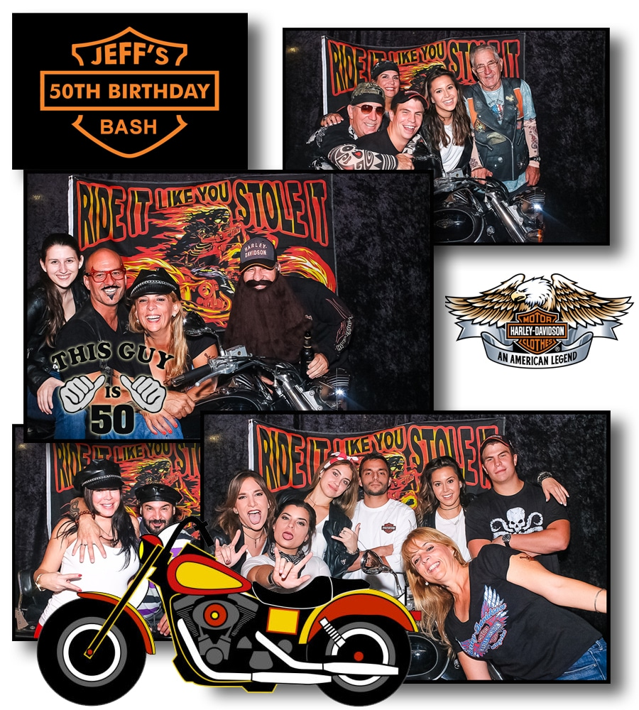 Motor Cycle Photo Booth