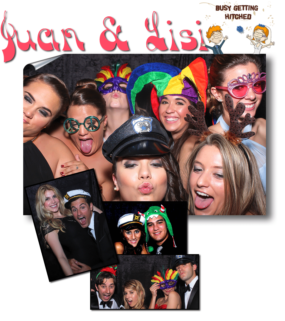 Group Photo in Photo Booth