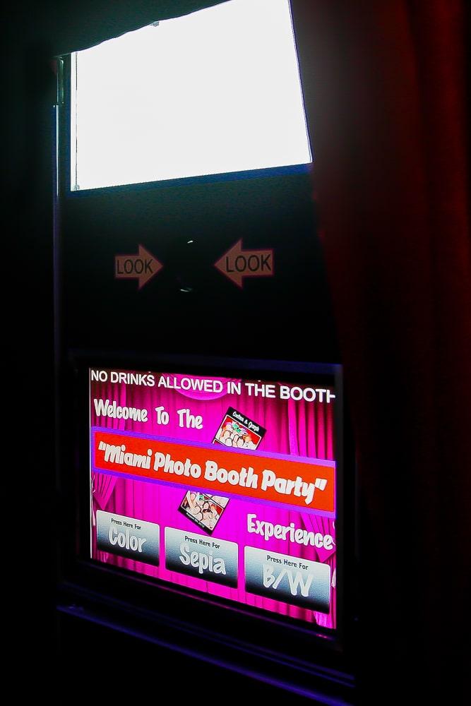 Party Lounge Kiosk Screen