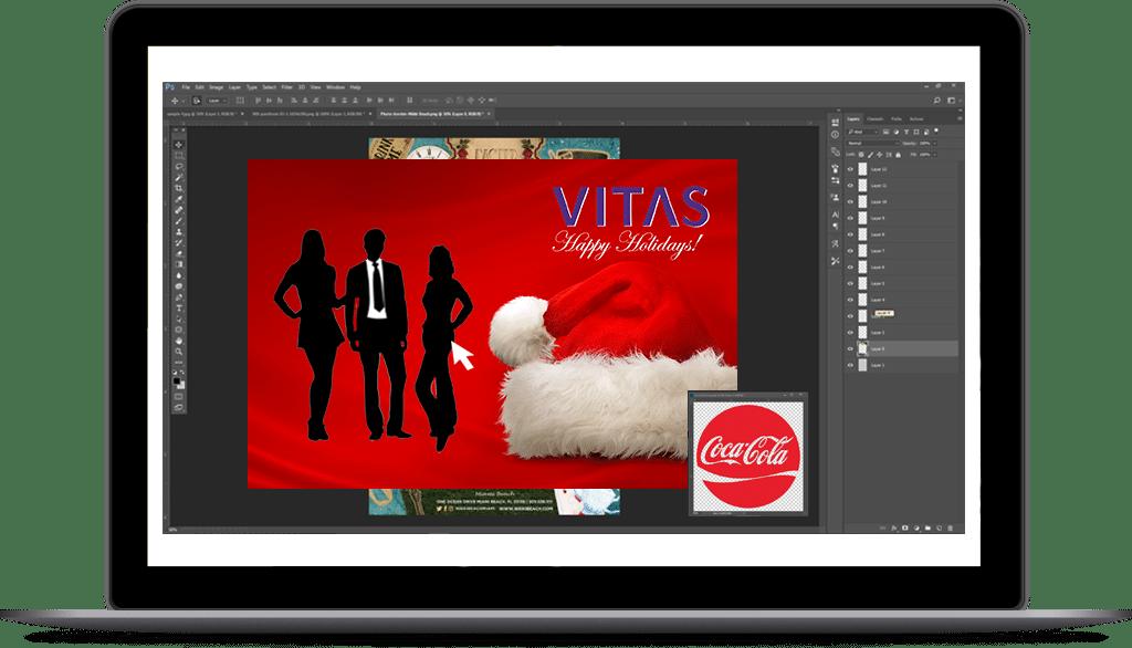 Image Branding on Laptop