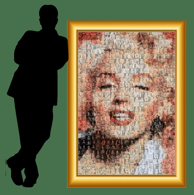 framed monroe print