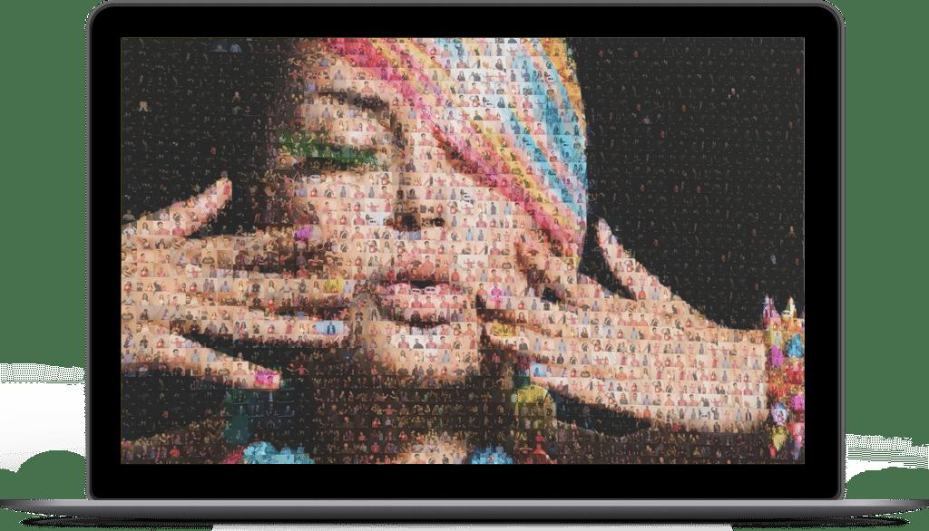 Laptop Mosaic
