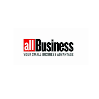 All business logo press release