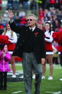 Jim Tressel was inducted into the Youngstown State University Athletic Hall of Fame on Nov. 16. He is one of the eight finalists to be YSU's next president, as well as one of the three finalists for the same position at the University of Akron.