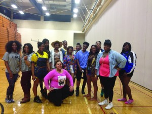 Some of the talent from Ignore the Hype, NEXT's fashion show, premiering on Thursday. NEXT is a newly formed student group that is making its debut with this fashion show.