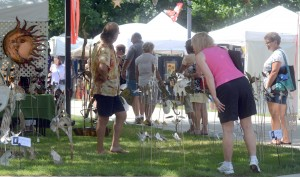 The Summer Festival of the Arts provides a venue for local educators to expose students to artistic ideas while promoting local artists.