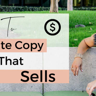How to Write Sales Copy that Gets Noticed and Sells