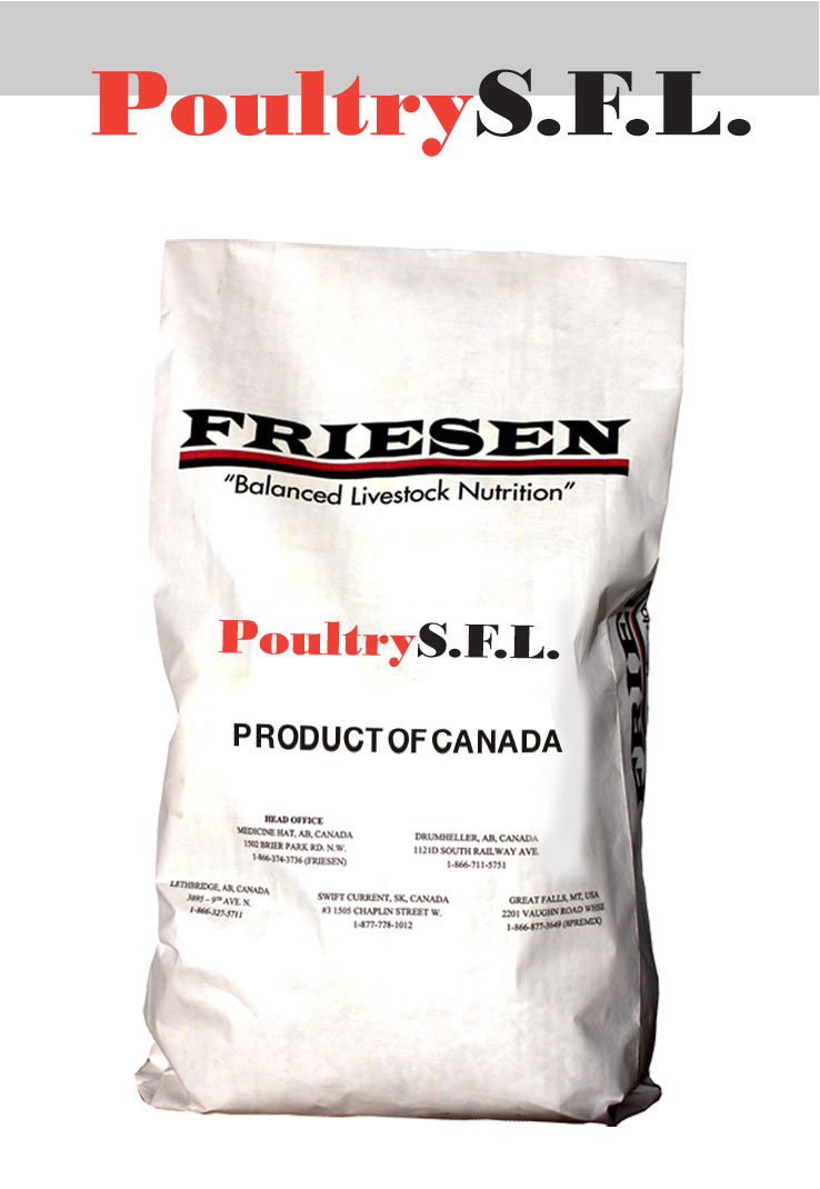 Friesen Nutrition Poultry SFL