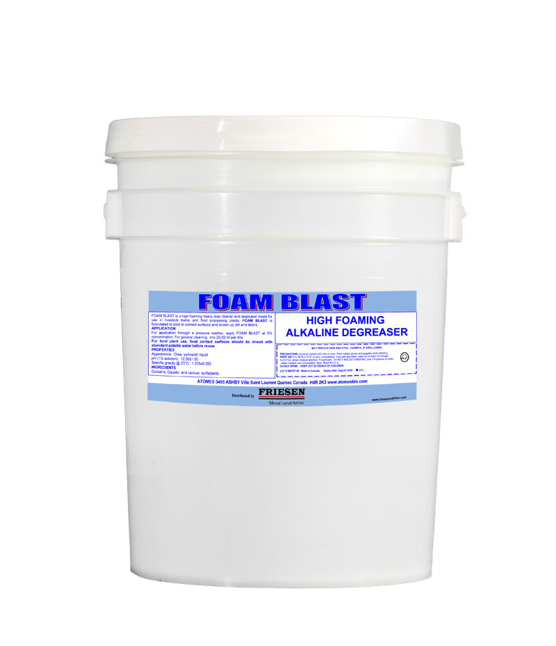 Friesen Nutrition foam blast