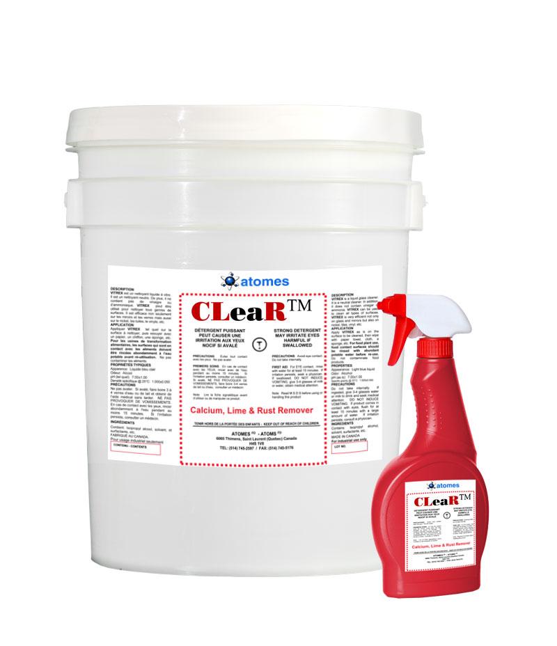 Friesen Nutrition Clear spray cleaner