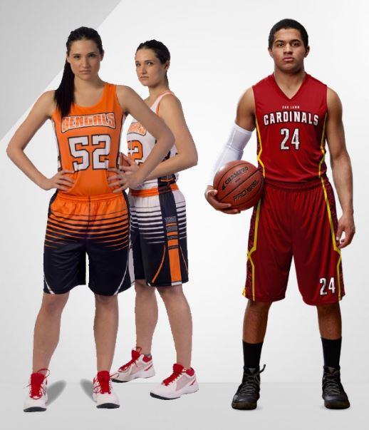 Champro Custom Basketball Uniforms