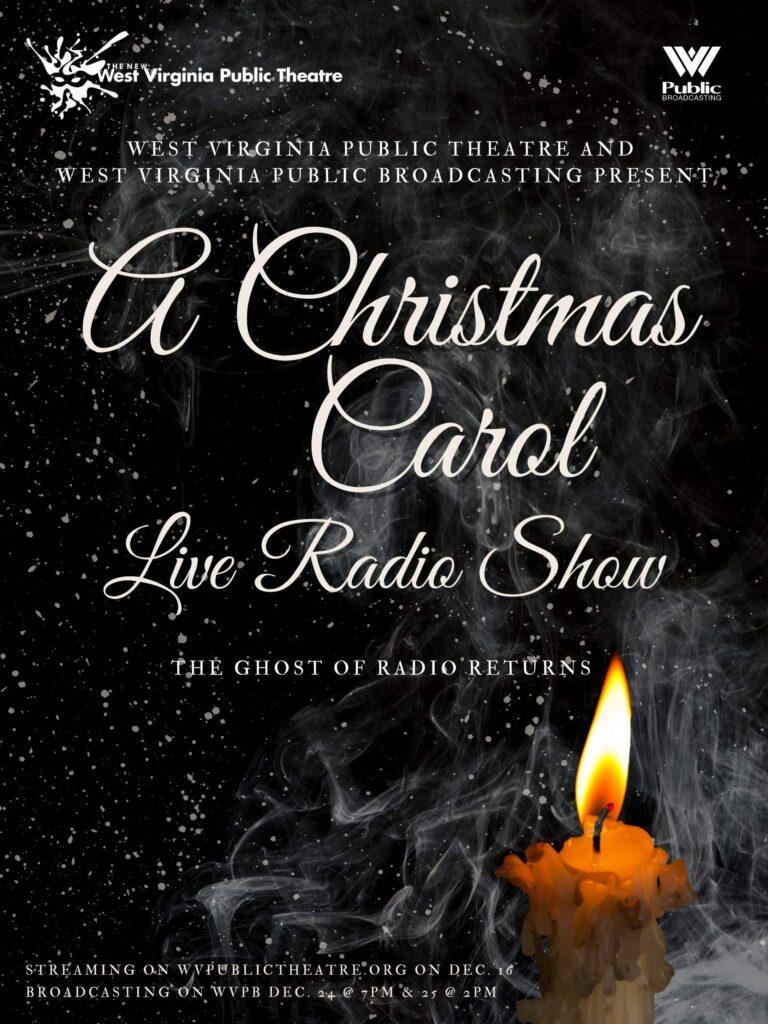 WVPT-WVPB Christmas Carol Live Radio Show Poster