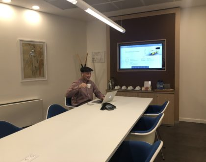 Anthony at Regus Florence
