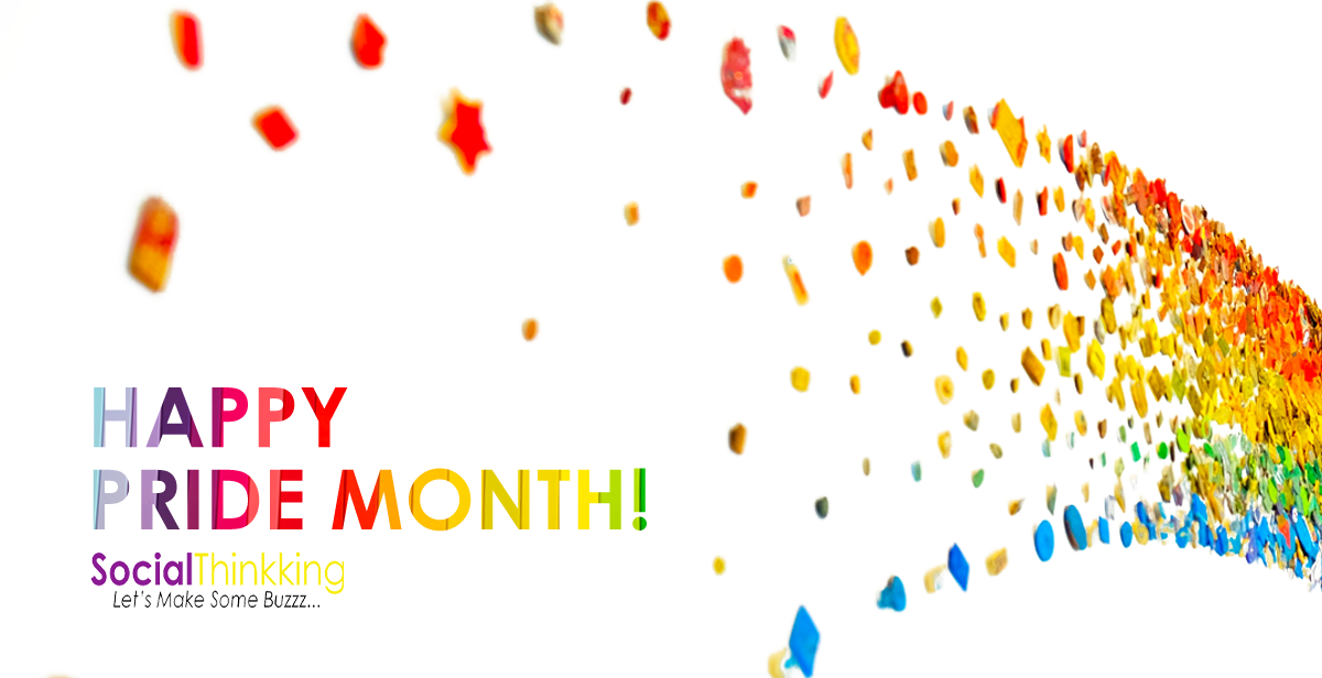 Celebrating Pride Month on Social Media 🌈