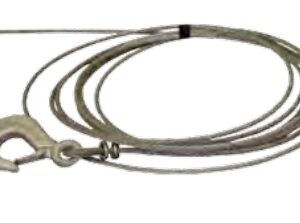 AutoFlex Knott Wire-cable with Safety Hook – 1500 lbs