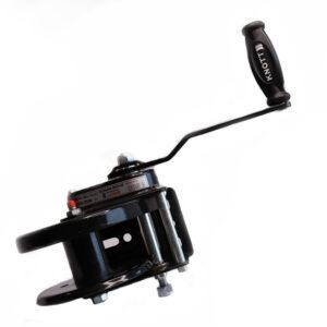 AutoFlex Knott Winch w/ Plastic Cover without Brake Black – 2500 lbs