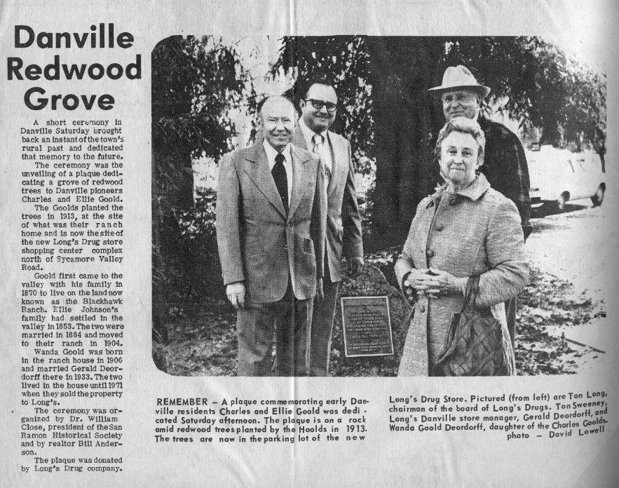 Danville Redwood Grove
