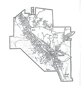 Alamo-Danville Proposed Boundary, 1964