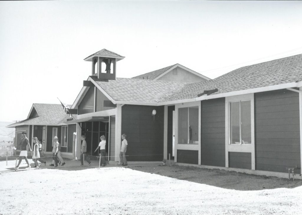 Neil Armstrong School in a house 1969