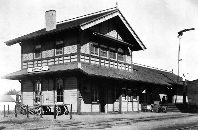 The Danville Depot c. 1910