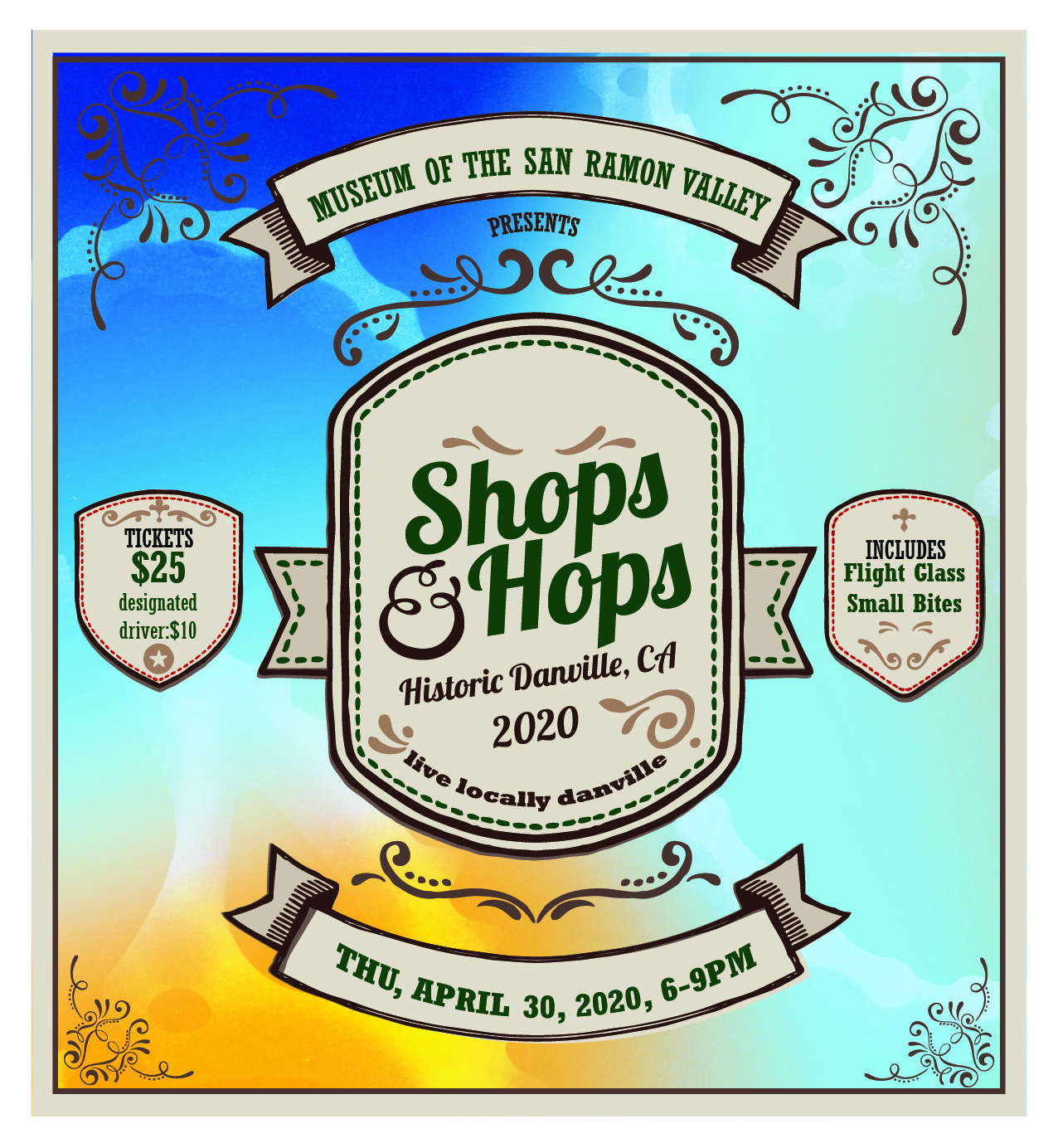 2020 Shops and Hops Banner