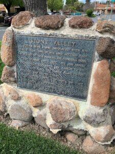 Stone Family Plaque