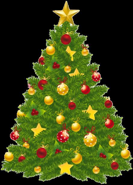 Christmas Tree transparent