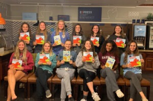 Delaware FC 2003 Girls Team with Books - More Than Winning at WAGS