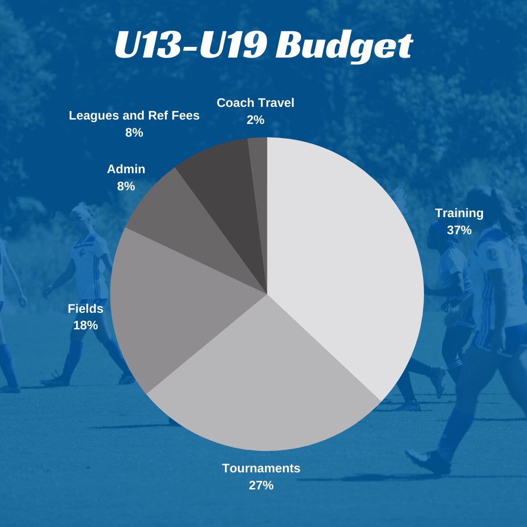 U13-U19 Budget