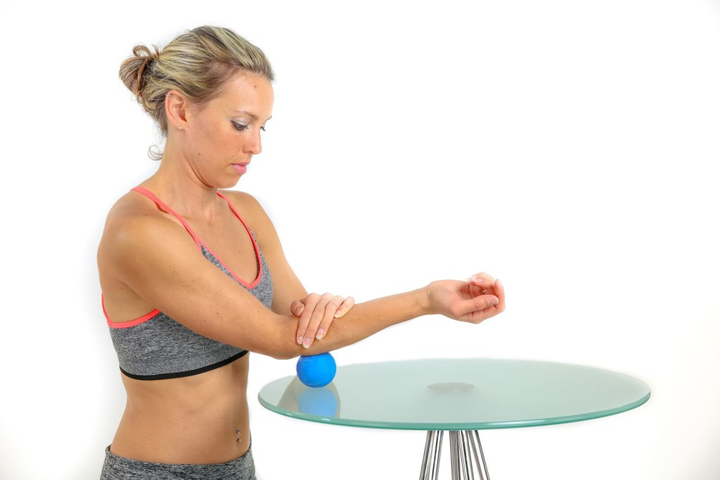 Extensor Carpi Radialis Longus Muscle Trigger Point for Tennis Elbow