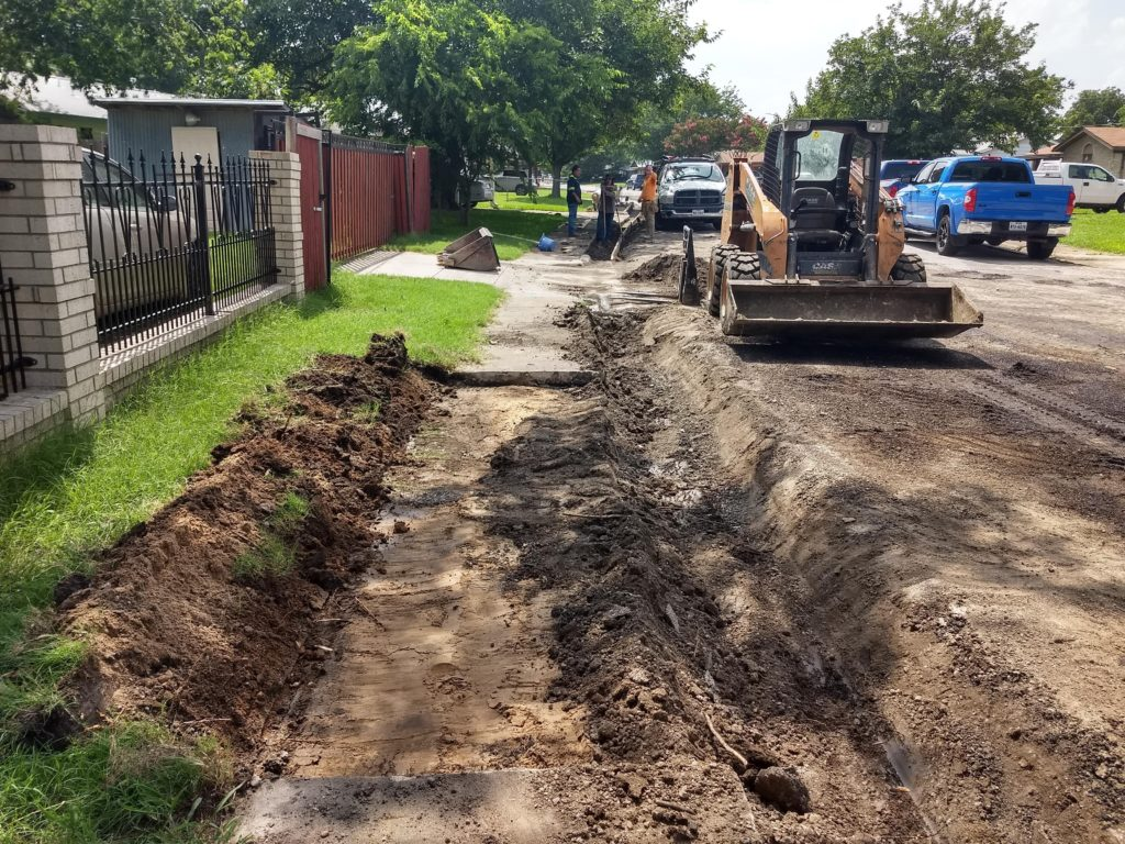 CIty Of Blue Mound Curb and Gutter Restoration