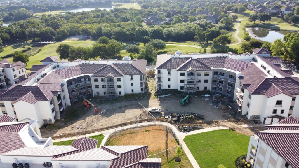 Courtland Riverside - Fossil Creek, Roof and Exterior Construction