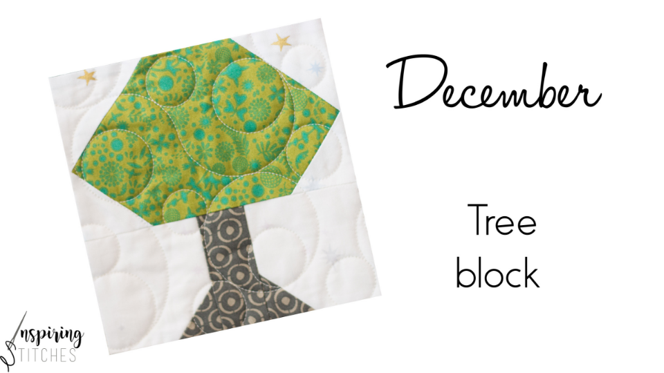 Stretch your quilting skills with the Tree Block from the Heartland Heritage Block of the Month pattern. This scrappy quilt from the gals at Inspiring Stitching is the perfect design for building your quilting skills.