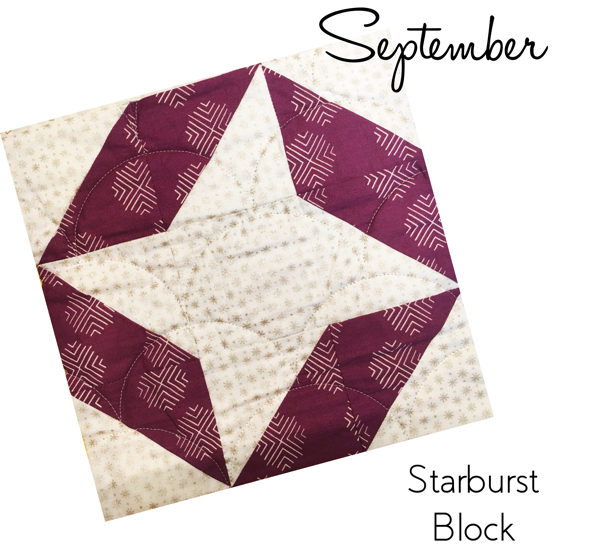 Starburst Block - Sew Hometown