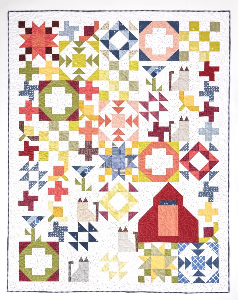 Carefree Picnic Quilt Image by Inspiring Stitches
