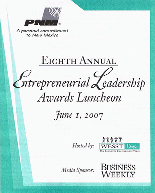 Leadership Awards flyer