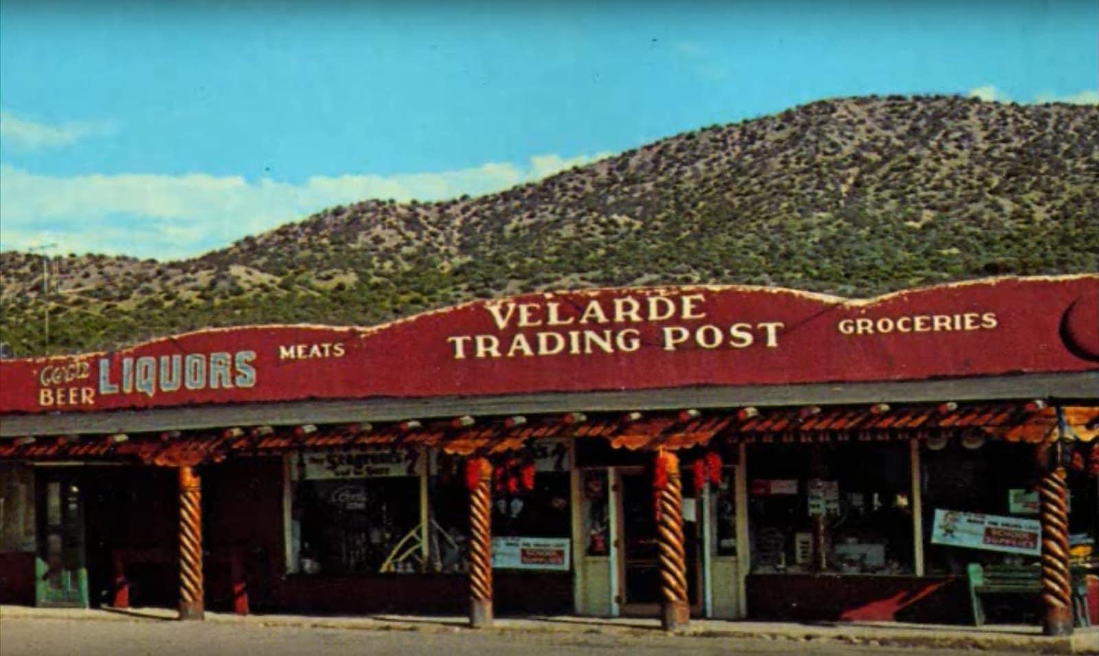Outside Velarde Trading Post